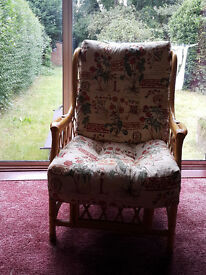 Conservatory Armchair in Excellent condition