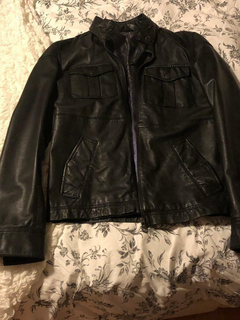 d0a2d277f71c5 Men s ted baker leather jacket