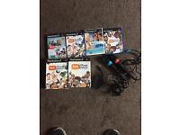 PlayStation singstar and eye toy bundle