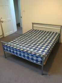 Used double beds and mattresses for sale (8 different beds available)
