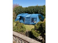 Tent with Camping accessories suitable for family of 6