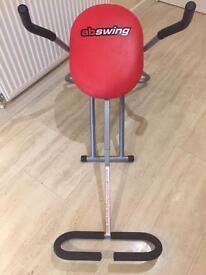 Ab swing pro exercise machine