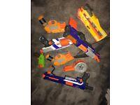 Various nurf guns