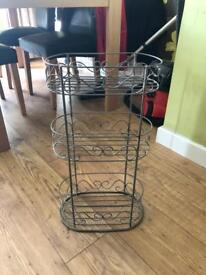 Toilet shelving stand unit