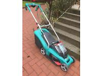 Bosch cordless lawnmower