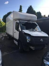 Volkswagen Crafter luton taillift 109ps 2015