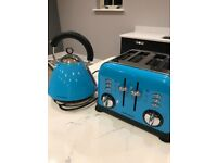 Morphy Richards Kettle & Toaster Set Blue