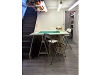 Fashion Studio available to hire for Designers, Tailors, Pattern Makers