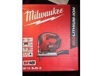 Milwaukee drill jigsaw grinder all new job lot