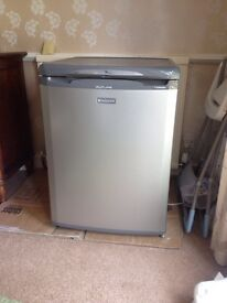 Fridge £80 Deluxe hotpoint future fridge. Graphite grey. As new condition.