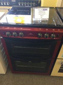 Graded new world red cooker 60cm