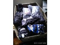 joblot wholesale customer returned used damaged motorcycle leather gloves