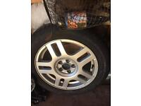 Golf alloy wheels
