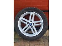"""(2016) 4x 17"""" FORD MONDEO/FORD FOCUS ALLOY WHEELS AND TYRES"""