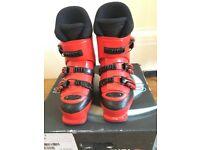 Rossignol Childs Ski Boots Red size 3 (Mondo Point 22.5)