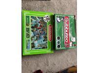 Classic Subbuteo boxed sets x 2 rare complete