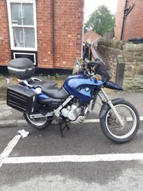 Bmw f650gs for sale. Well looked after.