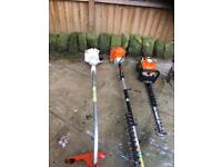 Stihl fs50c petrol strimmer serviced and cleaned