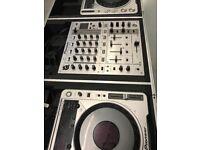 Pioneer cdj 800 mk2 Pioneer djm 700 Flightcase