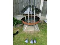 Wilson golf clubs 1,3,5 wood.