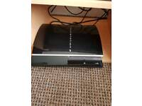 Playstation 3 console and games bundle