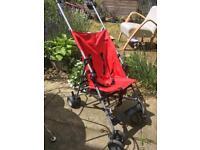 Pushchair buggy pram stroller