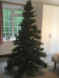 8 FOOT IMMITATION CHRISTMAS TREE