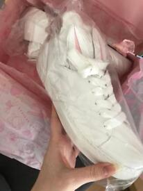 URGENT - Minna Parikka TAIL SNEAKS MINI white nappa size 39