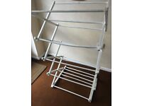 Wooden Airer - Clothes Drier - White