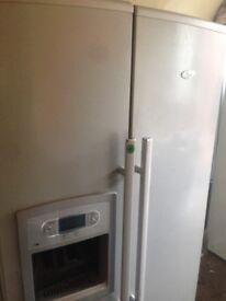 White American fridge freezer.....Cheap Free delivery