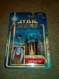 """Star wars """" Orn Free Taa"""" Collector's Item Figure. £10.00 Can post."""