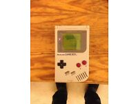 Game boy with Pokemon red