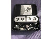 Logitech MM22 IPOD MP3 PORTABLE SPEAKER SYSTEM WHITE