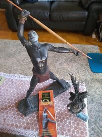Two NUBA tribal pieces for sale