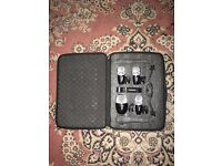 Shure Drum Microphones (1xPG52 and 3xPG56)