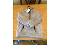 Boys grey fleece top 18-24 Months new with tags