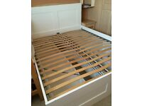 *REDUCED* IKEA Brimnes King Size [Non standard King] White Bed & Headboard