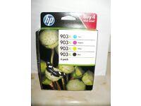 HP Colour Cartridges 903 XL 4 Pack