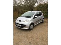 Citroen c1 Peugeot 107 very low mileage only 30115