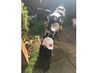 WK 125 motorbike
