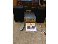 JVC UX-D100 HiFi System With Bluetooth, CD, DAB and USB