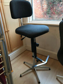 Drafting chair — good quality tall swivel chair with footrest