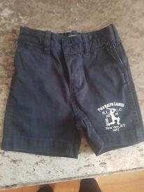 Ralf Lauren shorts 18 months