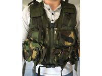 Webtex Webbing, camouflage activities, air soft, shooting, wide games, military games/activities