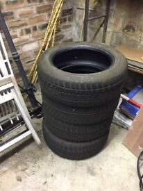 4 Avon winter car tyres for sale