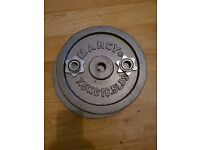 Macy 6ft Olympic Bar + 2 x 7.5kg weights + Collars