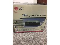 Super dvd rewriter X18 new in box