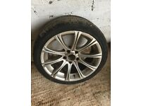 BMW alloy with great tyre 235/40/18