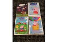 Peppa pig dvds and Ben & holly dvd