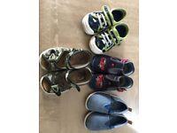 Boys shoes size 19-21